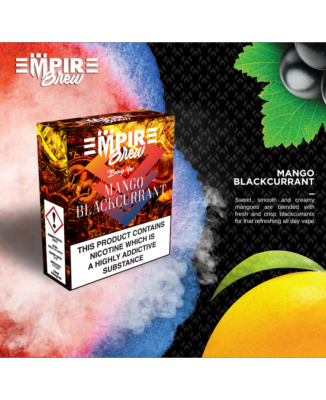 Mango Blackcurrent by Empire Brew - 3 x 10ml Multipack