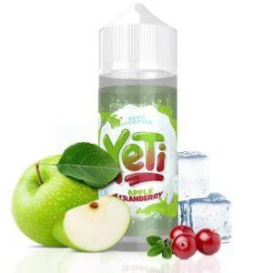 Yeti 100ml Apple Cranberry