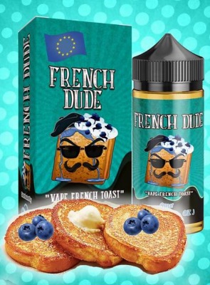 French Dude 100ml Short Fill 0mg