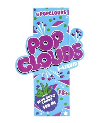 Blue Razz Candy by Pop Clouds