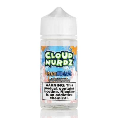 Cloud Nurdz 100ml Peach Blue Razz Ice