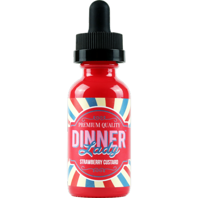 Strawberry Custard by Dinner Lady