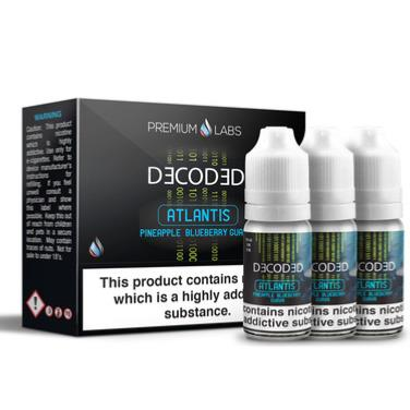Atlantis by Decoded - 3 x 10ml Multipack