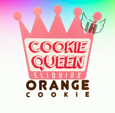 Orange Cookie by Cookie Queen
